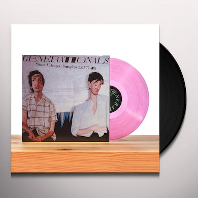 Generationals STATE DOGS: SINGLES 2017-18 Vinyl Record