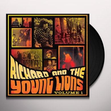 Richard & Young Lions VOLUME 1 Vinyl Record