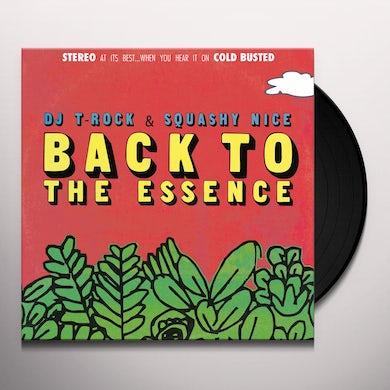 DJ T-Rock & Squashy Nice ROCK & SQUASHY NICE / BACK TO THE ESSENCE Vinyl Record