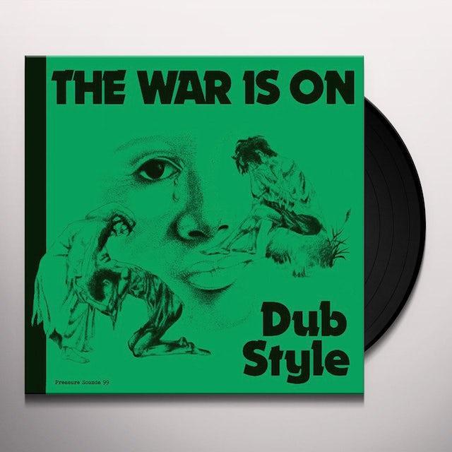 Phill Pratt & Friends THE WAR IS ON DUB STYLE Vinyl Record