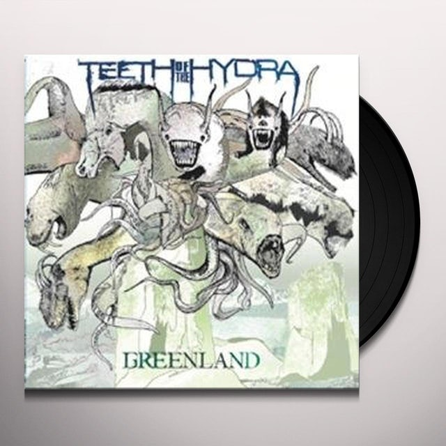 Teeth Of The Hydra GREENLAND Vinyl Record