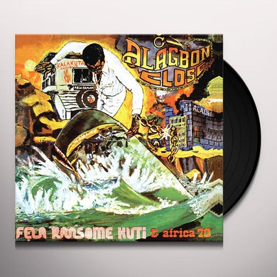 Fela Kuti ALAGBON CLOSE Vinyl Record