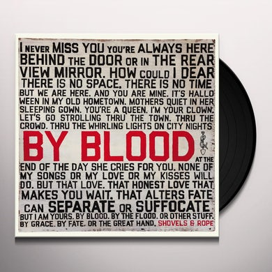 By Blood Vinyl Record