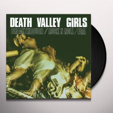 Death Valley Girls BREAKTHROUGH (COLOR VINYL) Vinyl Record