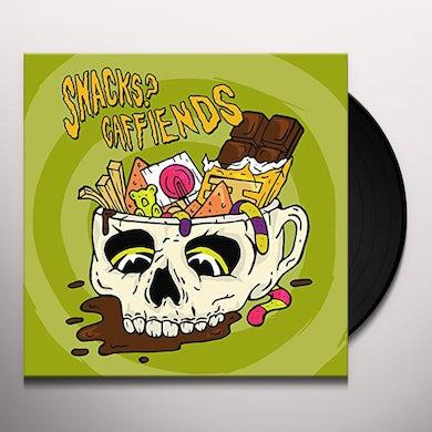 Snacks Caffiends SPLIT Vinyl Record