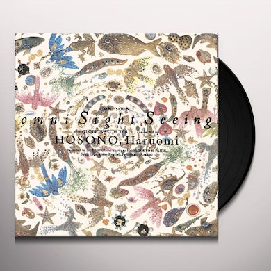 Haruomi Hosono OMNI SIGHT SEEING Vinyl Record - Gatefold Sleeve, Limited Edition, Reissue