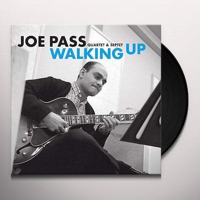 Joe Pass WALKING UP Vinyl Record