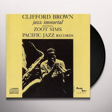 Clifford Brown JAZZ IMMORTAL Vinyl Record