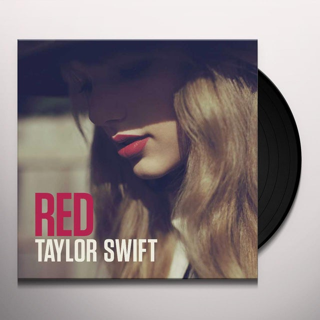 Taylor Swift RED Vinyl Record