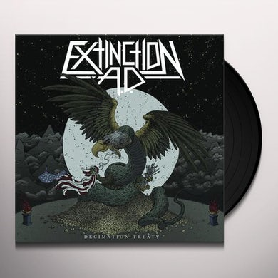EXTINCTION AD DECIMATION TREATY Vinyl Record