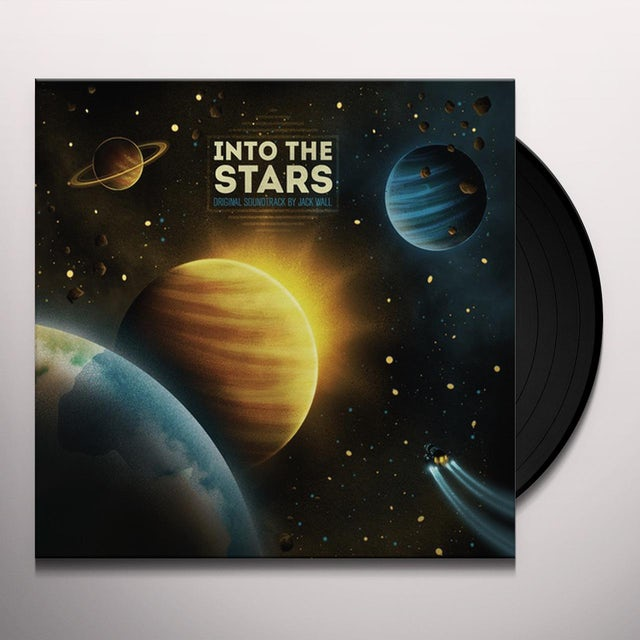 Jack Wall INTO THE STARS / O.S.T. Vinyl Record