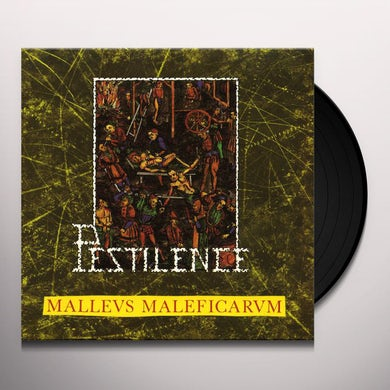 Pestilence MALLEUS MALEFICARUM Vinyl Record