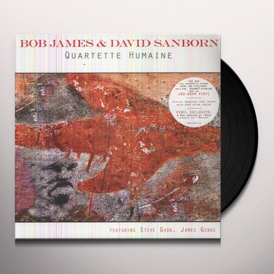 Bob James QUARTETTE HUMAINE Vinyl Record