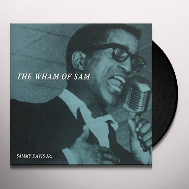 Sammy Davis Jr WHAM OF SAM Vinyl Record