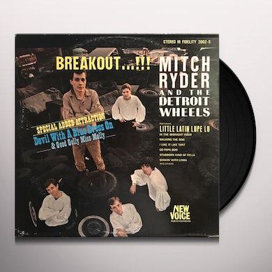 Mitch Ryder Detroit Breakout! Vinyl Record