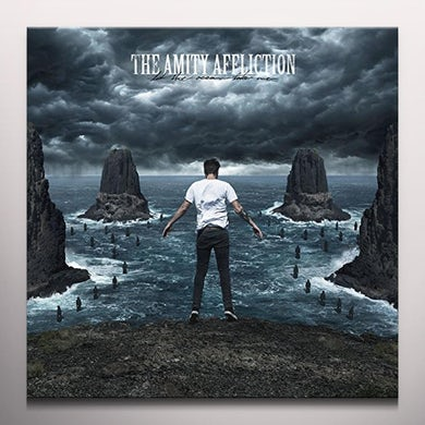 The Amity Affliction LET THE OCEAN TAKE ME Vinyl Record - Colored Vinyl, Digital Download Included