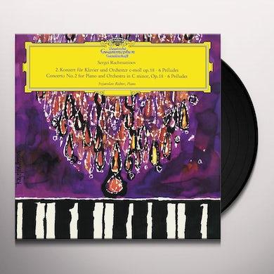 Sviatoslav Richter Piano Concerto No.2 I nC Minor, Op.18; 6 Preludes (LP) Vinyl Record