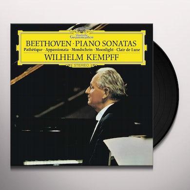Wilhelm Kempff PIANO SONATA NO 8 Vinyl Record