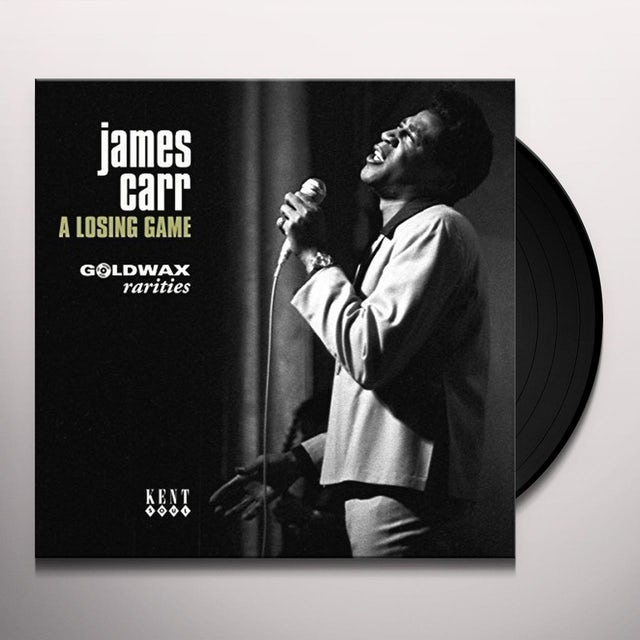 James Carr LOSING GAME: GOLDWAX RARITIES Vinyl Record