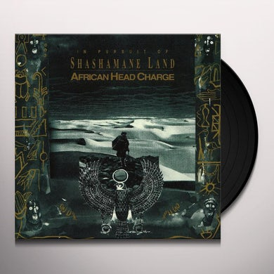 African Head Charge In Pursuit Of Shashamane Land Vinyl Record