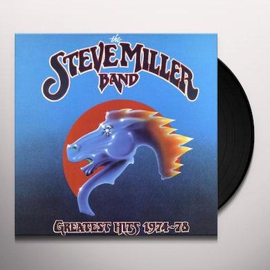 Steve Miller Band GREATEST HITS 1974-78 Vinyl Record