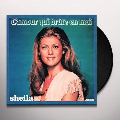 Sheila L'AMOUR QUI BRULE EN MOI Vinyl Record