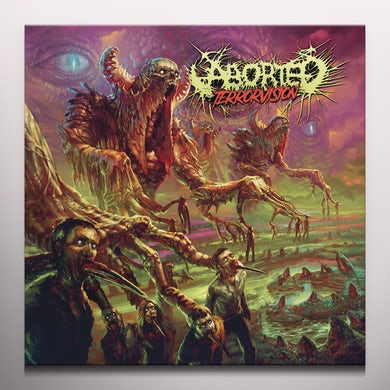Aborted TERRORVISION - Limited Edition 180 Gram Colored Vinyl Record