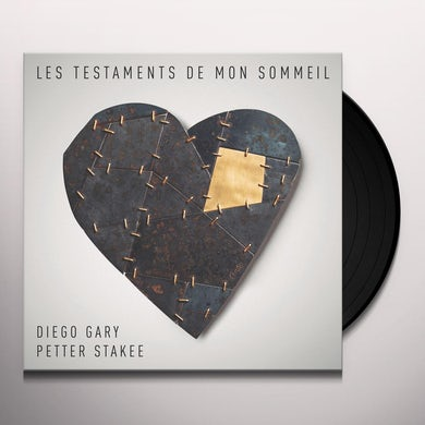 Diego Gary / Petter Stakee LES TESTAMENTS DE MON SOMMEIL Vinyl Record