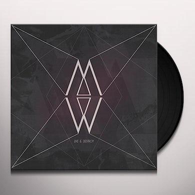 MINUIT MACHINE LIVE & DESTROY Vinyl Record