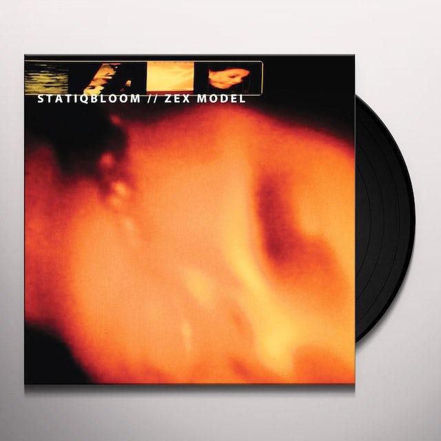 STATIQBLOOM / ZEX MODEL SPLIT Vinyl Record