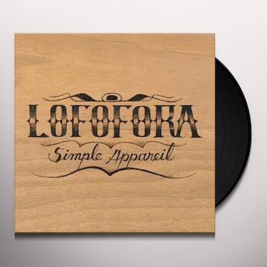 SIMPLE APPAREIL Vinyl Record
