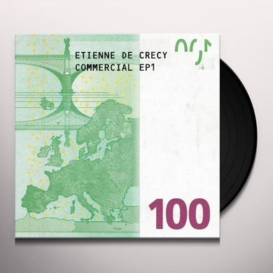 Etienne De Crecy COMMERCIAL EP1 Vinyl Record