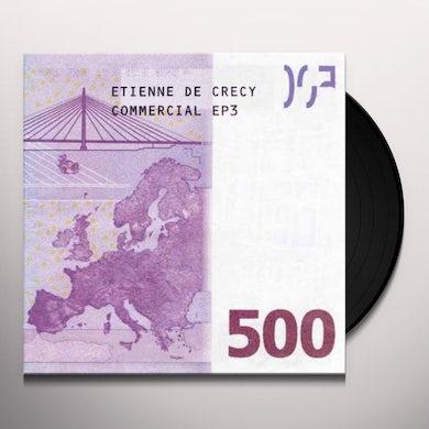 Etienne De Crecy COMMERCIAL EP3 Vinyl Record