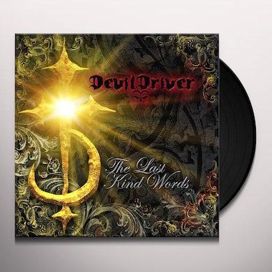 Devildriver LAST KIND WORDS (ROCKTOBER 2018 EXCLUSIVE) Vinyl Record