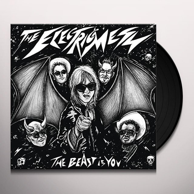 ELECTRIC MESS BEAST IS YOU Vinyl Record