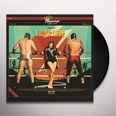 Flamingo Tours LUCHA LIBRE Vinyl Record