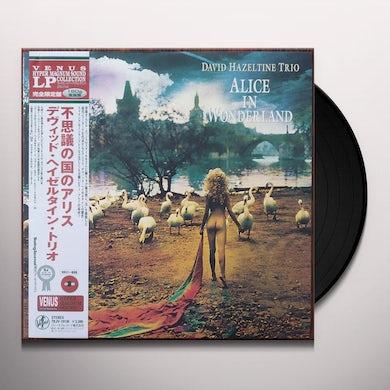 David Hazeltine ALICE IN WONDERLAND Vinyl Record - Japan Release