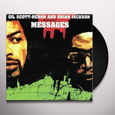 Gil Scott-Heron ANTHOLOGY: MESSAGES Vinyl Record
