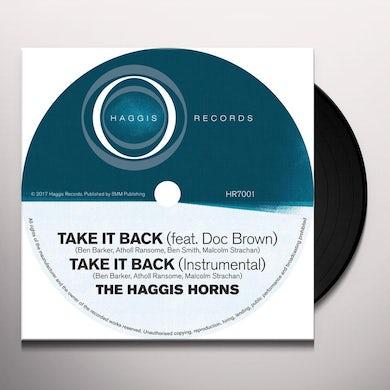 The Haggis Horns TAKE IT BACK Vinyl Record