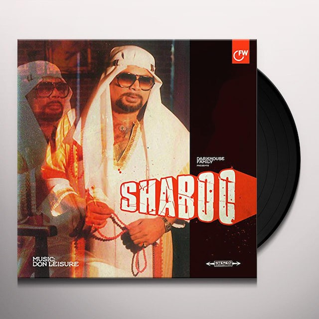 Don Leisure SHABOO Vinyl Record