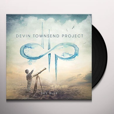 Devin Townsend Project SKY BLUE Vinyl Record