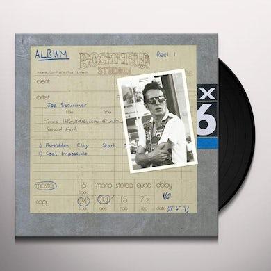 Joe Strummer ROCKFIELD STUDIO TRACKS Vinyl Record