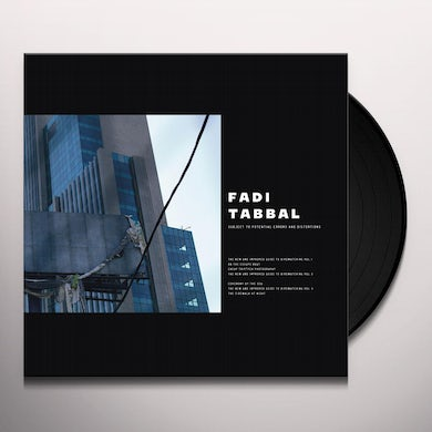 SUBJECT TO POTENTIAL ERRORS AND DISTORTIONS Vinyl Record