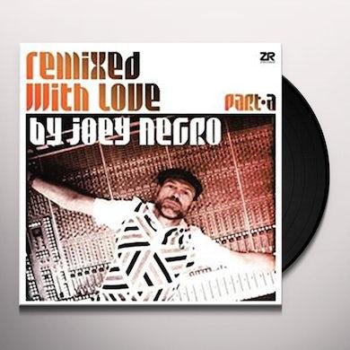Joey Negro REMIXED WITH LOVE Vinyl Record