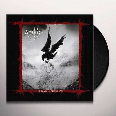 POWER REMAINS THE SAME (LP/DVD) Vinyl Record