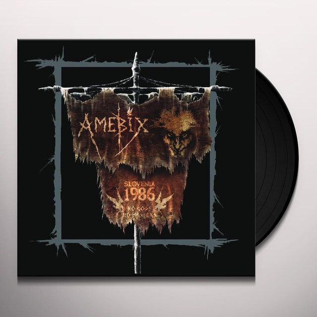 Amebix SLOVENIA 86 Vinyl Record