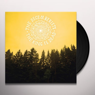 The Decemberists KING IS DEAD Vinyl Record