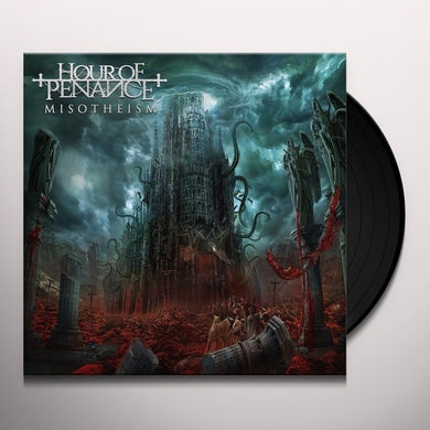 Hour Of Penance MISOTHEISM Vinyl Record