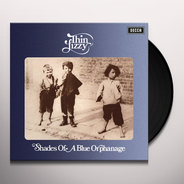 Thin Lizzy SHADES OF A BLUE ORPHANAGE Vinyl Record