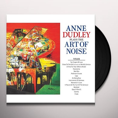 PLAYS THE ART OF NOISE Vinyl Record
